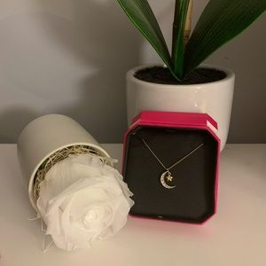 Juicy Couture Moon & Star necklace